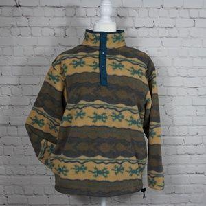 Vintage L L Bean Women's Fleece Pullover Size M